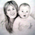Mother & Son Sketch