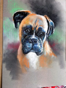 Single Pet Pastel Portrait